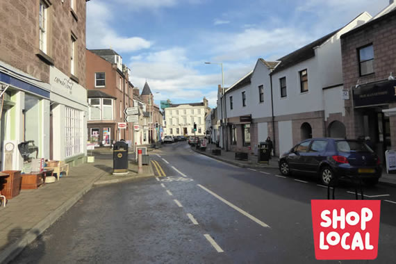 Blairgowrie & Rattray High Street